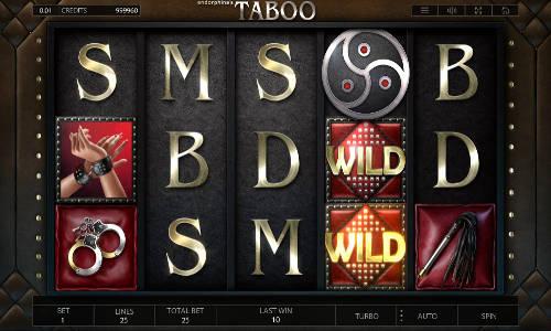 Taboo slot