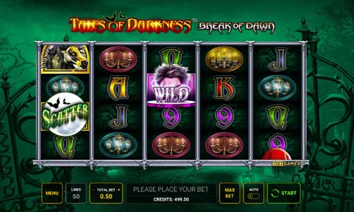 Tales of Darkness Break of Dawn slot