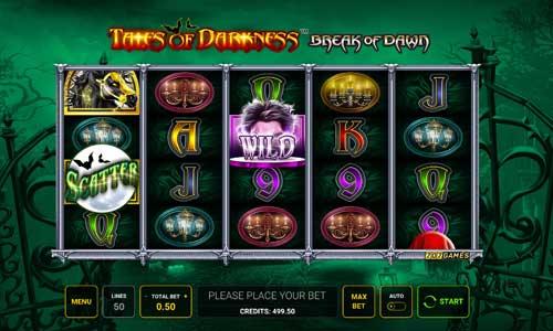 Tales of Darkness Break of Dawn slot