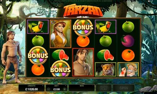 Tarzan videoslot