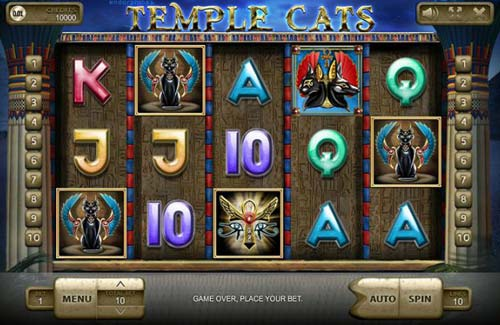 Temple Cats free slot