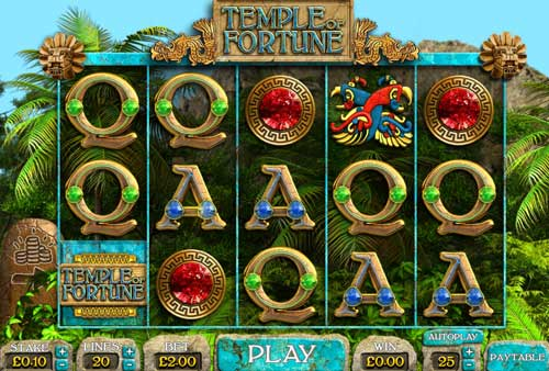 Temple of Fortune casino slot