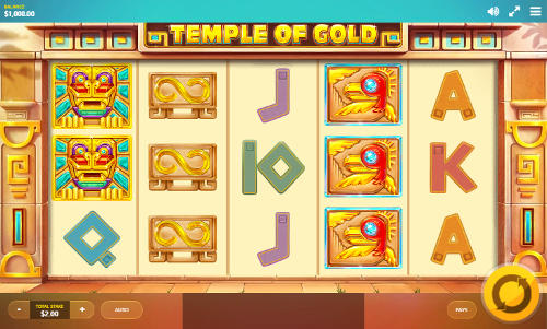 Temple of Gold videoslot