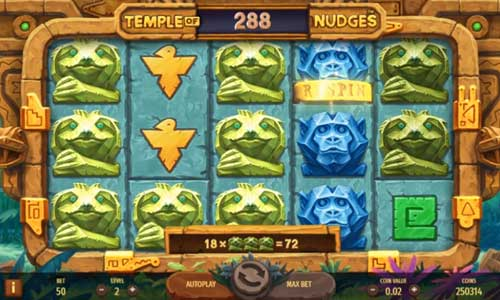 Temple of Nudges casino slot
