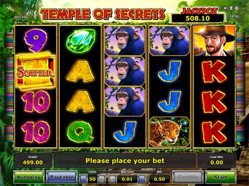 Temple of Secrets free slot