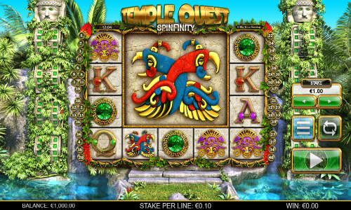 Temple Quest Spinfinity free slot