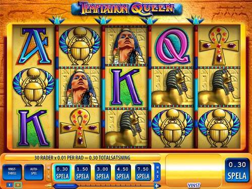 Temptation Queen free slot