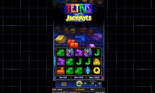 Tetris Super Jackpots videoslot