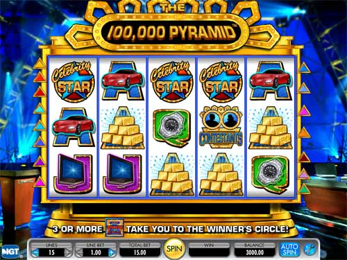 The 100,000 Pyramid videoslot