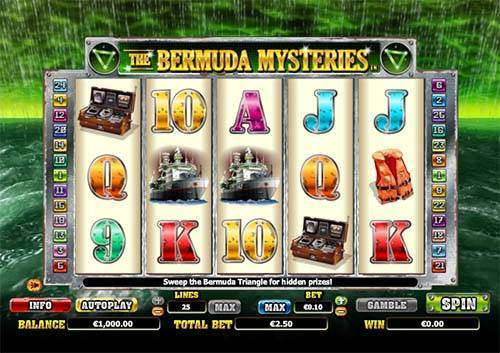 The Bermuda Mysteries free slot