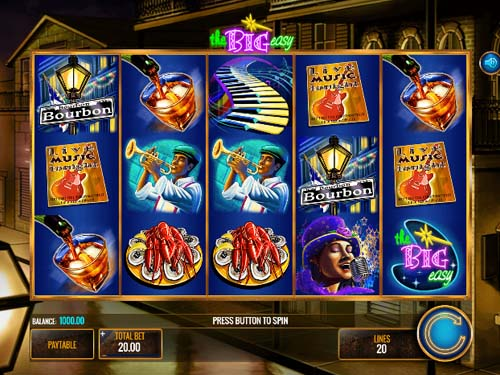 The Big Easy free slot