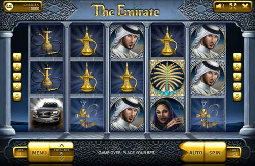 The Emirate free slot