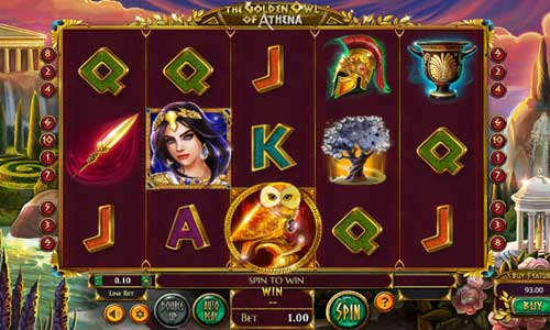 The Golden Owl of Athena slot