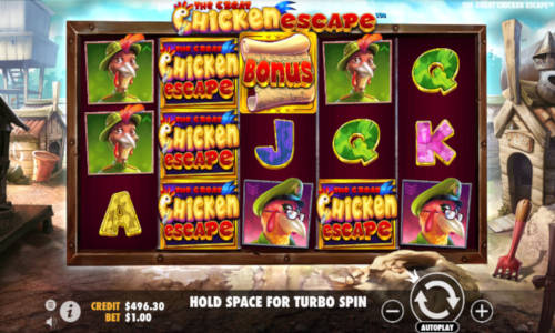 The Great Chicken Escape videoslot