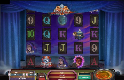 The Great Escape Artist casino slot