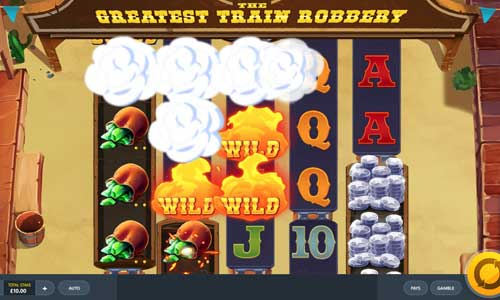 The Greatest Train Robbery videoslot