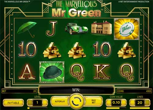 The Marvellous Mr Green free slot