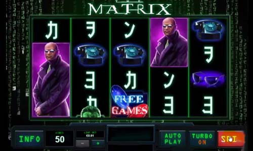 The Matrix videoslot