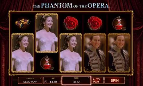The Phantom of the Opera videoslot