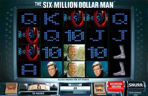Six Million Dollar Man videoslot