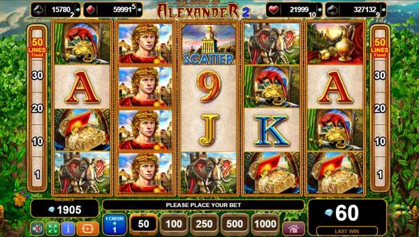 The Story of Alexander II videoslot