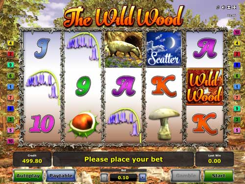 The Wild Wood free slot