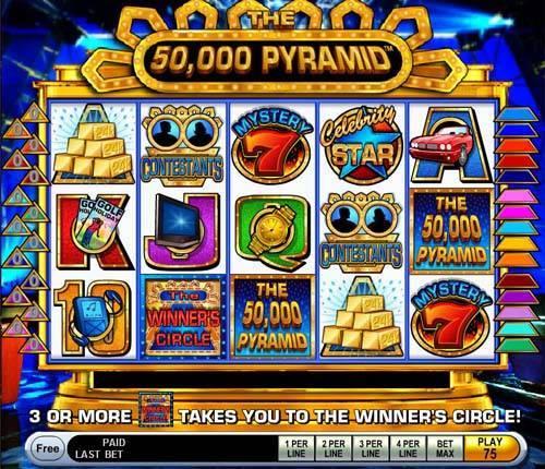 The 50,000 Pyramid slot