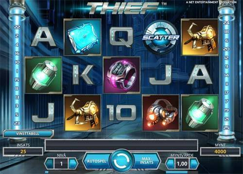 Thief free slot