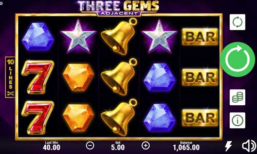 Three Gems videoslot