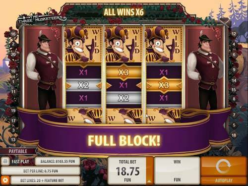 Three Musketers free slot