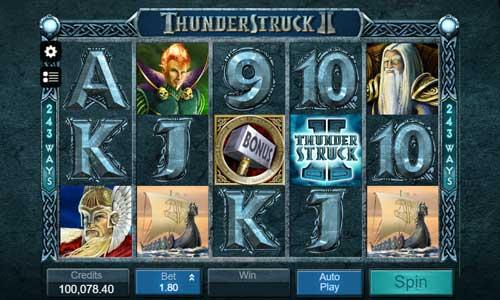 Thunderstruck 2 videoslot