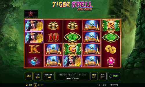Tiger Spell Xtra Choice videoslot