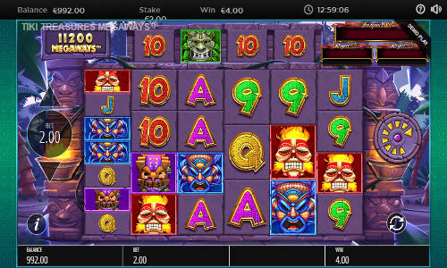 Tiki Treasures Megaways slot