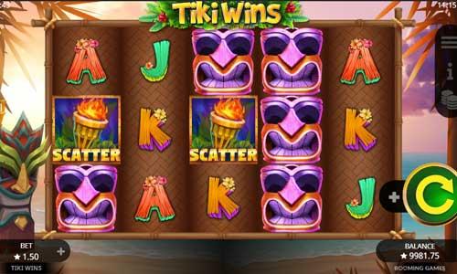 Tiki Wins videoslot