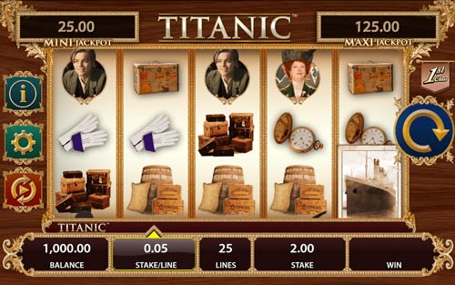 Titanic videoslot