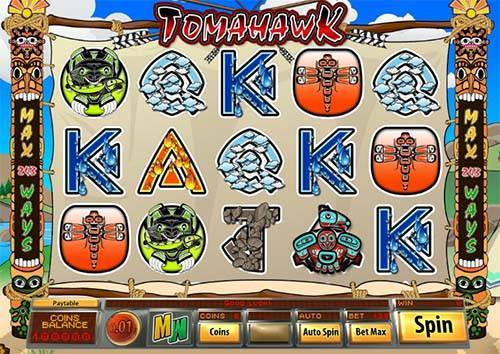 Tomahawk videoslot