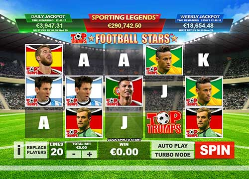 Top Trumps Football Stars videoslot