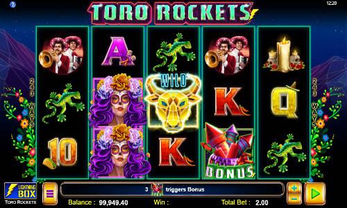 Toro Rockets videoslot