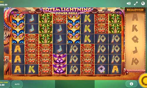 Totem Lightning Power Reels videoslot