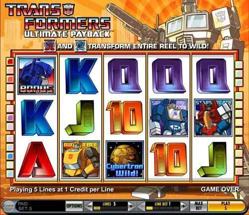 Transformers™ Slot spel spela gratis i IGT Online Casinon