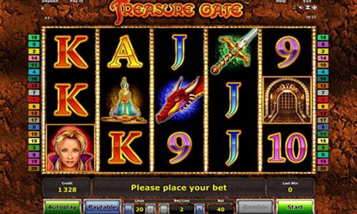 Treasure Gate free slot