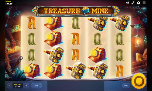 Treasure Mine videoslot