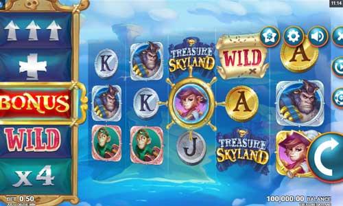 Treasure Skyland videoslot