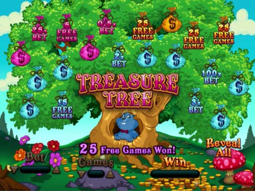 Treasure Tree videoslot