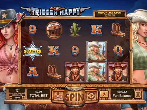 Trigger Happy slot