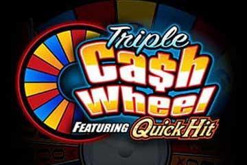 Triple Cash Wheel video slot