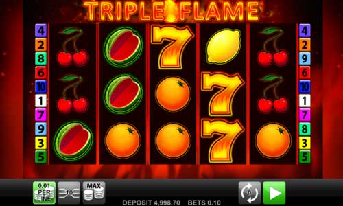 Triple Flame videoslot