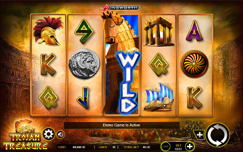Trojan Treasure free slot