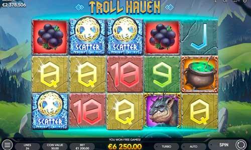 Troll Haven videoslot
