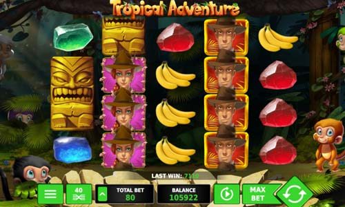 Tropical Adventure free slot